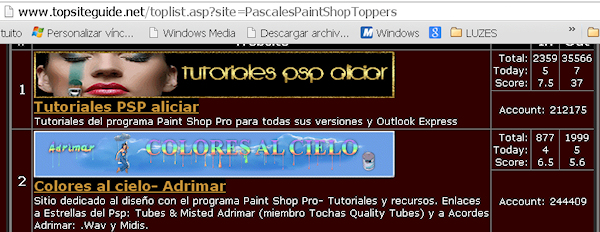 2do Puesto- PASCALES PAINT SHOP TOPPERS