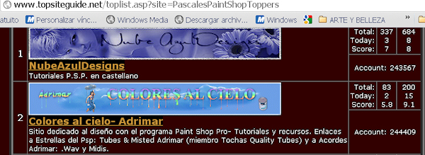 2er Puesto- PASCALES PAINT SHOP TOPPERS