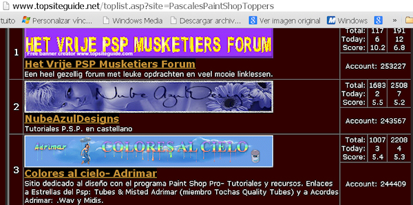 3er Puesto- PASCALES PAINT SHOP TOPPERS