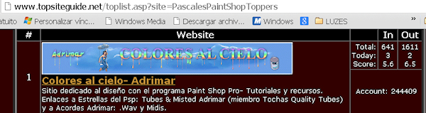 1er Puesto- PASCALES PAINT SHOP TOPPERS